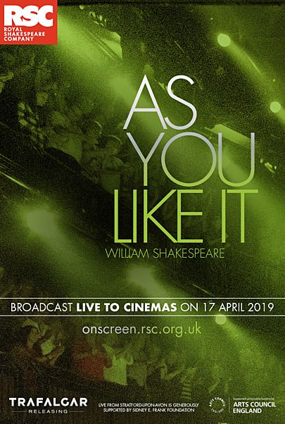 "Movie poster for ""AS YOU LIKE IT (ROYAL SHAKESPEARE COMPANY)"""