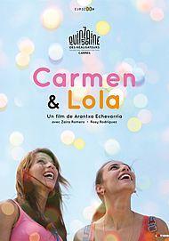 "Movie poster for ""CARMEN Y LOLA"""