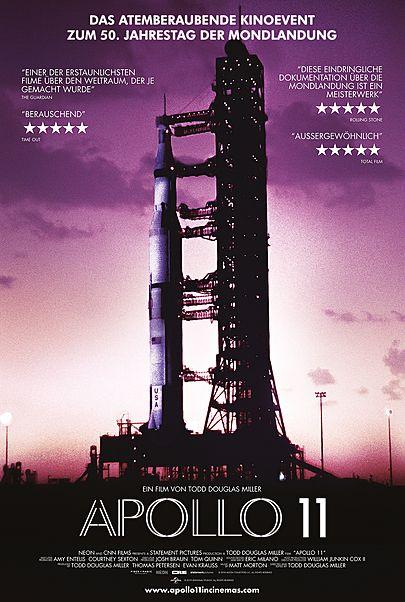 """Filmplakat für """"APOLLO 11"""""""