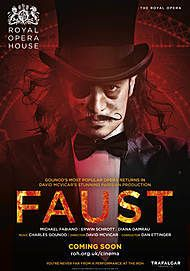 "Movie poster for ""FAUST (ROYAL OPERA HOUSE)"""