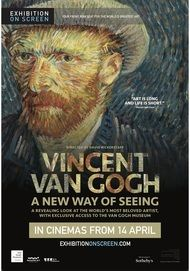 "Movie poster for ""VINCENT VAN GOGH: A NEW WAY OF SEEING - Exhibition on Screen"""