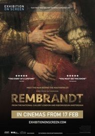 "Movie poster for ""REMBRANDT - Exhibition on Screen"""