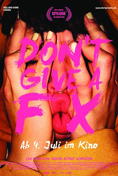 "Filmplakat für ""DON'T GIVE A FOX"""