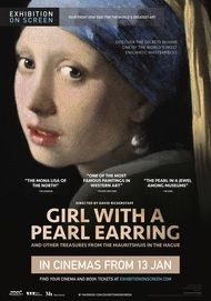 "Movie poster for ""GIRL WITH A PEARL EARRING - Exhibition on Screen"""