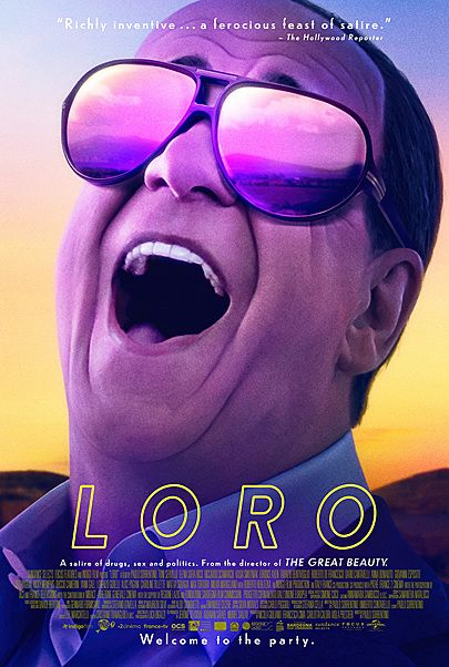 """Movie poster for """"LORO"""""""