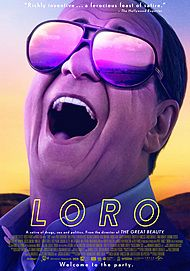 "Movie poster for ""LORO"""