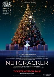 "Movie poster for ""THE NUTCRACKER - ROYAL BALLET 2016"""