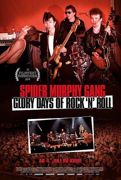 "Filmplakat für ""SPIDER MURPHY GANG - GLORY DAYS OF ROCK'N'ROLL"""