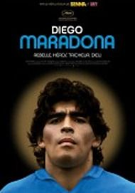 "Movie poster for ""DIEGO MARADONA"""