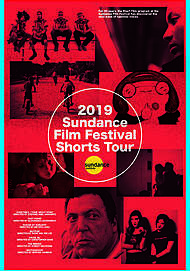 "Movie poster for ""2019 SUNDANCE FILM FESTIVAL SHORT FILM TOUR"""