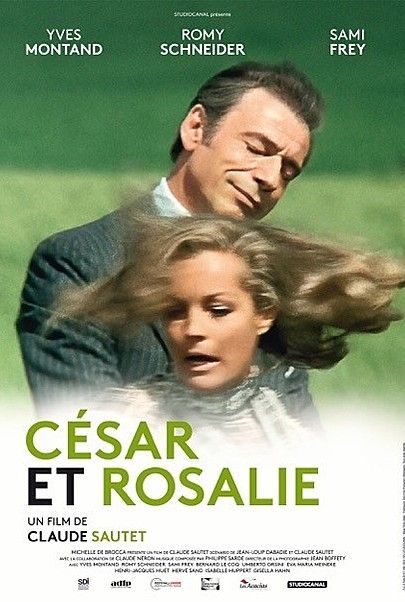 "Movie poster for ""CESAR AND ROSALIE"""