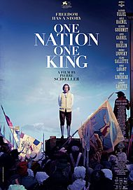 "Movie poster for ""ONE NATION, ONE KING"""