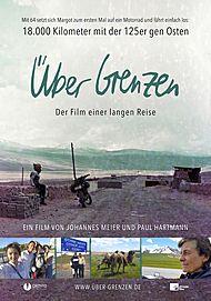 """Movie poster for """"ÜBER GRENZEN"""""""