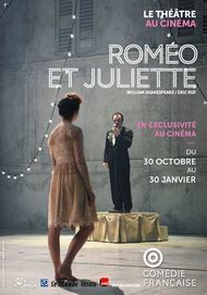 """Movie poster for """"ROMEO ET JULIETTE - Comedie Francaise"""""""