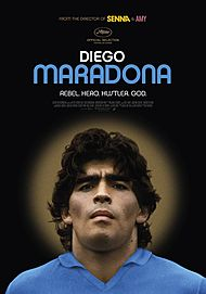 "Movie poster for ""DIEGO MARADONA"""