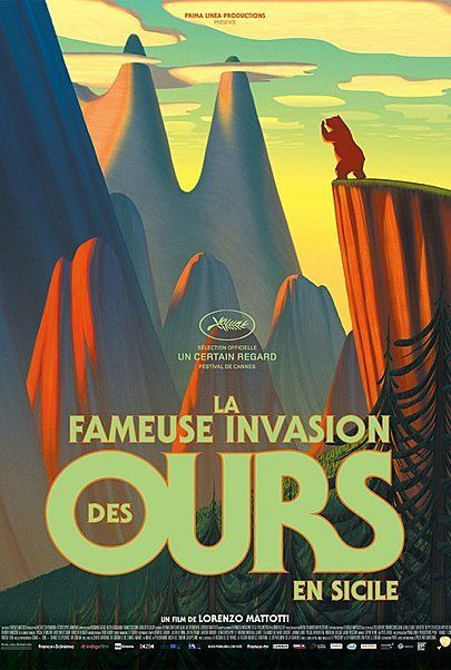 """Movie poster for """"THE BEARS' FAMOUS INVASION OF SICILY"""""""