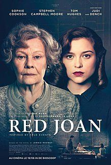 "Movie poster for ""RED JOAN"""