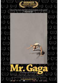 "Movie poster for ""MR. GAGA"""