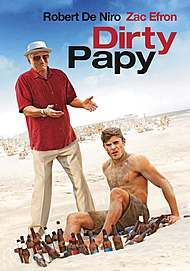 """Movie poster for """"DIRTY GRANDPA"""""""