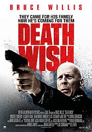 "Movie poster for ""DEATH WISH"""
