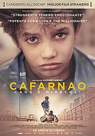 "Movie poster for ""CAPERNAUM"""