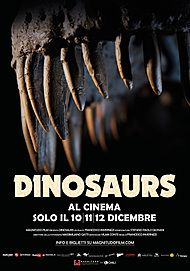 """Movie poster for """"DINOSAURS"""""""