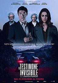 """Movie poster for """"IL TESTIMONE INVISIBLE"""""""