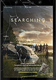"""Movie poster for """"SEARCHING"""""""