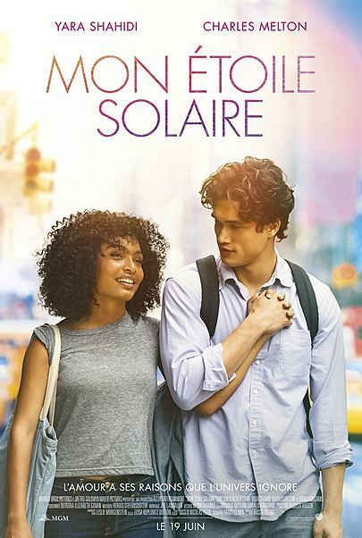 """Movie poster for """"THE SUN IS ALSO A STAR"""""""