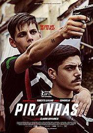 "Movie poster for ""PIRANHAS"""