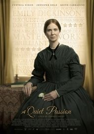 "Movie poster for ""A QUIET PASSION"""