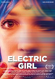 "Movie poster for ""ELECTRIC GIRL"""