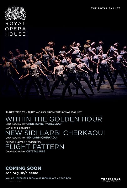 """Movie poster for """"WITHIN THE GOLDEN HOUR / MEDUSA / FLIGHT PATTERN (ROYAL OPERA HOUSE)"""""""