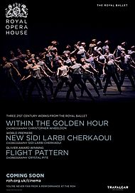 "Movie poster for ""WITHIN THE GOLDEN HOUR / MEDUSA / FLIGHT PATTERN (ROYAL OPERA HOUSE)"""