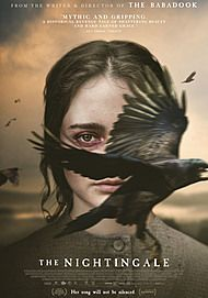 "Movie poster for ""THE NIGHTINGALE"""
