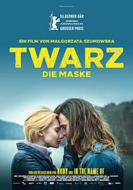 "Movie poster for ""TWARZ - DIE MASKE - Kinostart in Österreich"""