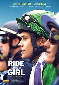 "Movie poster for ""RIDE LIKE A GIRL """