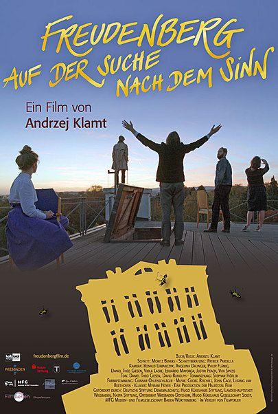 """Movie poster for """"FREUDENBERG - AUF DER SUCHE NACH DEM SINN"""""""