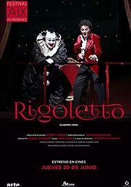"Movie poster for ""RIGOLETTO - FESTIVAL D'AIX-EN-PROVENCE"""