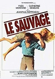 "Movie poster for ""LE SAUVAGE"""