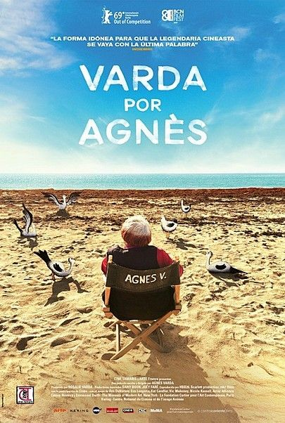 "Movie poster for ""VARDA BY AGNES"""