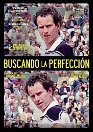 """Movie poster for """"JOHN MCENROE: IN THE REALM OF PERFECTION"""""""