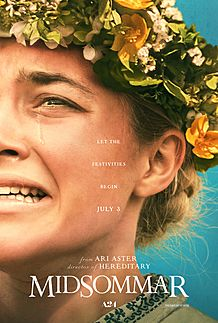 "Movie poster for ""MIDSOMMAR"""