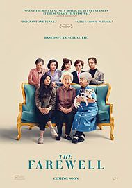 "Movie poster for ""THE FAREWELL"""