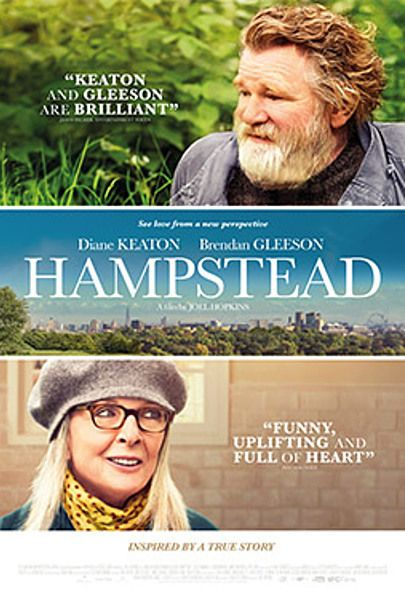 """Movie poster for """"HAMPSTEAD"""""""