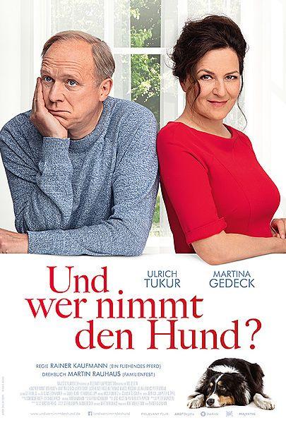 """Movie poster for """"UND WER NIMMT DEN HUND"""""""