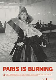 "Movie poster for ""PARIS IS BURNING"""