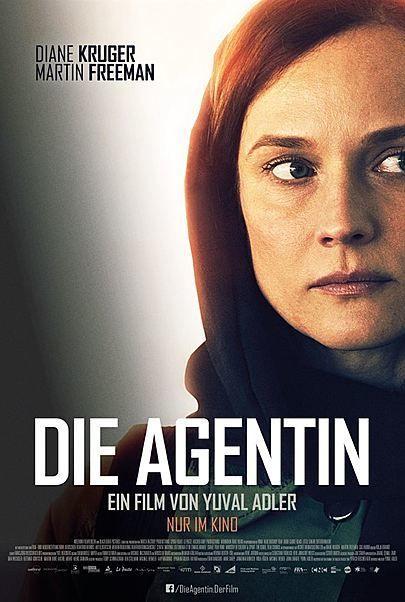 """Filmplakat für """"DIE AGENTIN"""""""