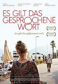 """Filmplakat für """"ES GILT DAS GESPROCHENE WORT"""""""