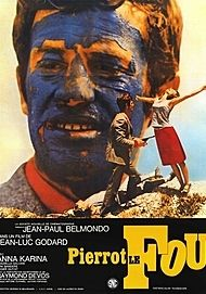 "Movie poster for ""PIERROT LE FOU """